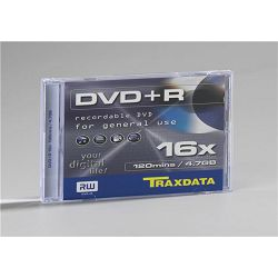 TRAXDATA OPTIČKI MEDIJ DVD+R 16X BOX 1