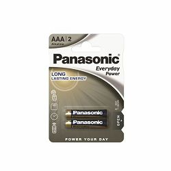 PANASONIC baterijeLR03EPS/2BP Alkaline Everyday Power