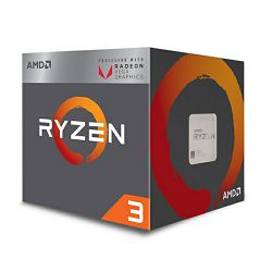 AMD Ryzen 3 2200G, 4C/4T, 3.5GHz,RX VEGA, box, AM4