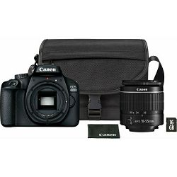 Canon EOS 2000D + 18-55mm IS 16GB - SB130 kit