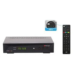 Receiver DVB-T2 H.265 HEVC Nytro Box Plus